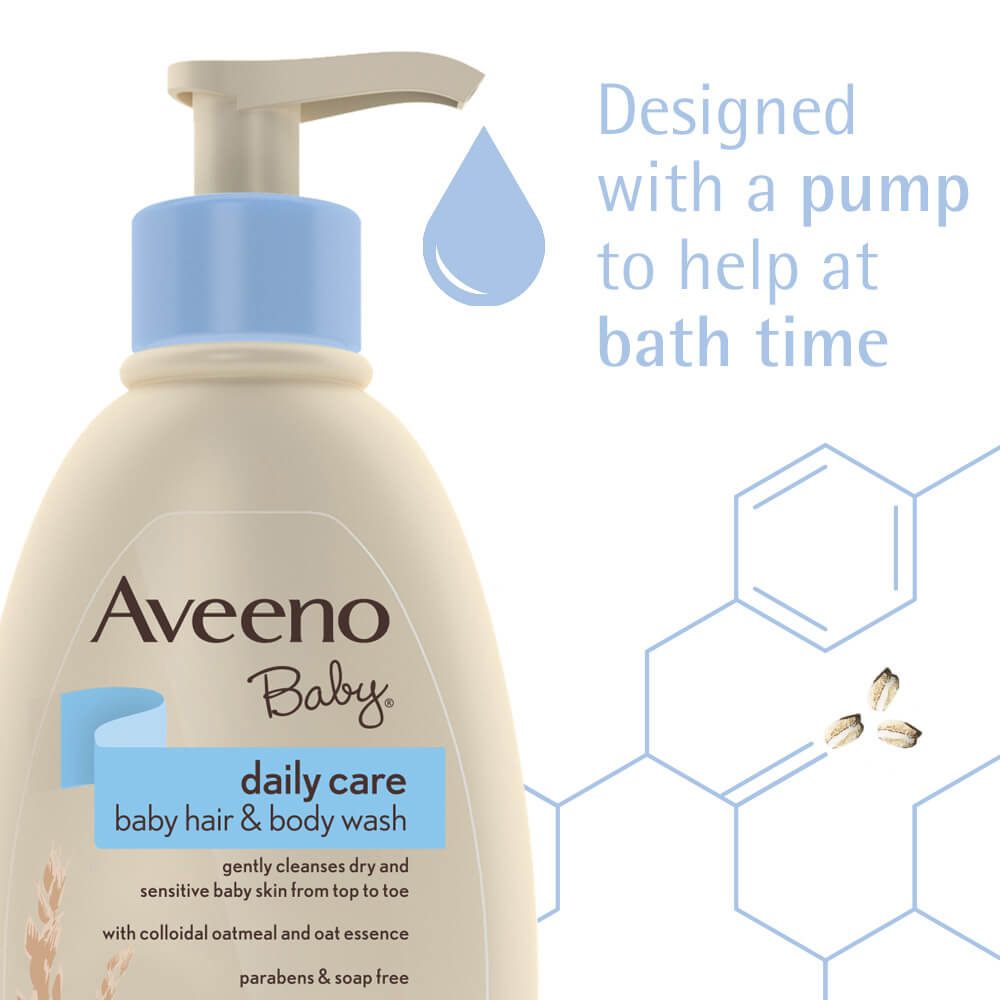 Aveeno Baby Daily Care Hair And Body Wash - Pump